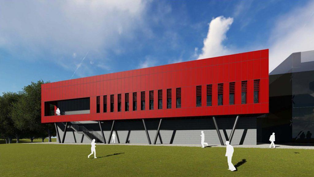 Lancaster University – Sports Hall Extension