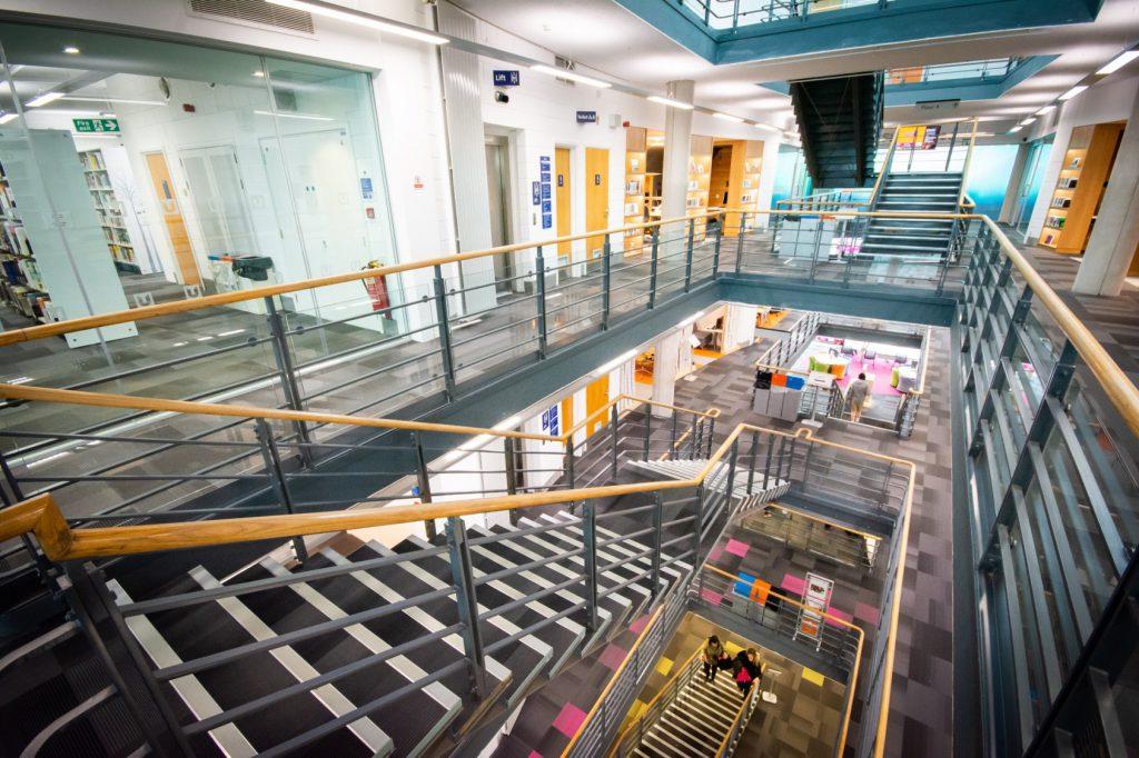 Teesside University Library Refurbishment